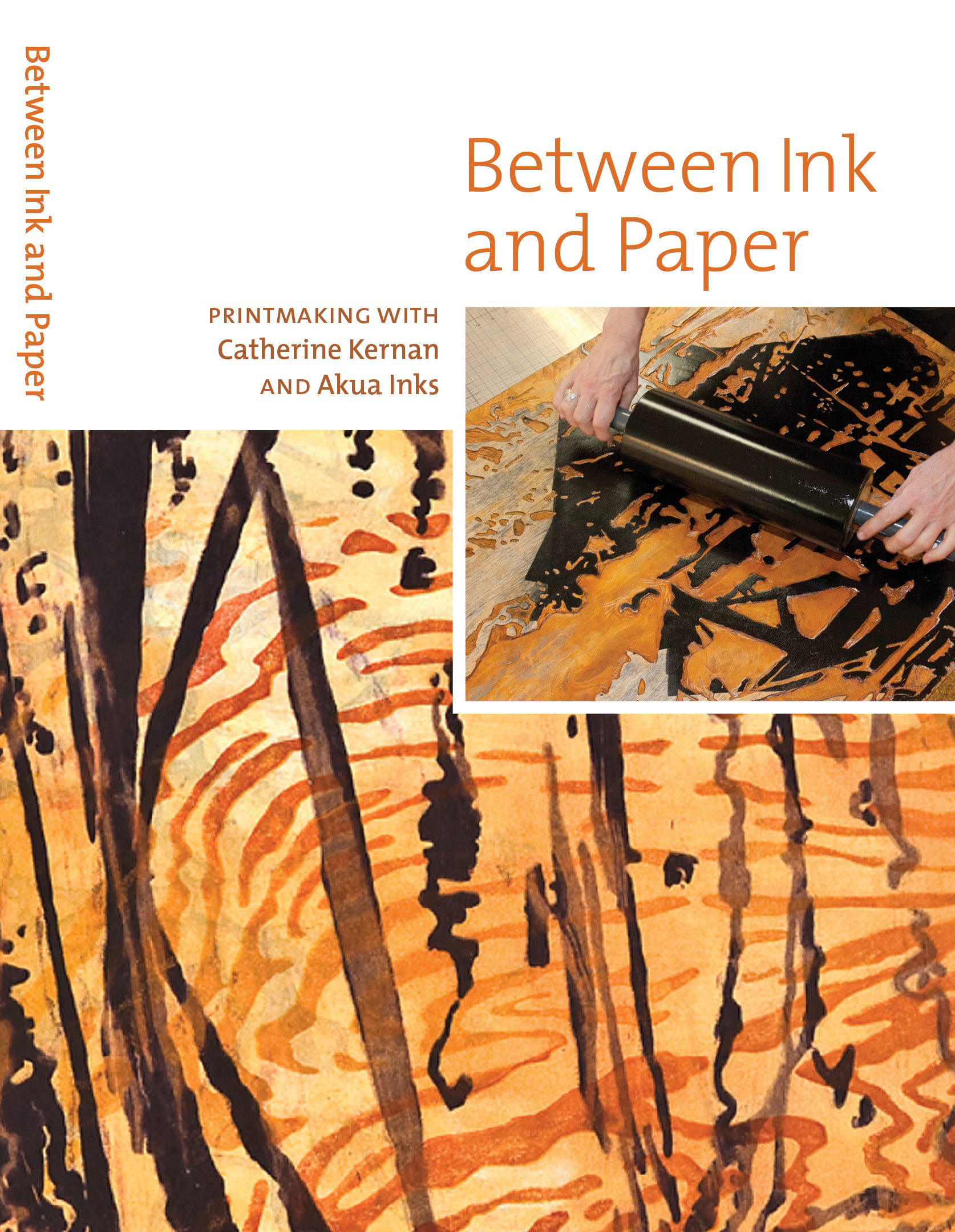 DVDKER Between Ink and Paper Cover