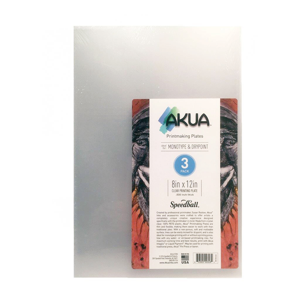 PET812 Akua Printmaking Plates 8x12