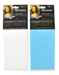 Chacopaper Transfer Paper Blue White