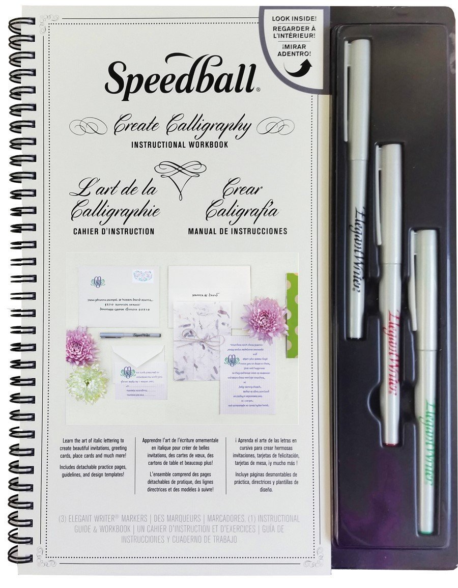 Elegant writer markers speedball art Elegant writer calligraphy pens