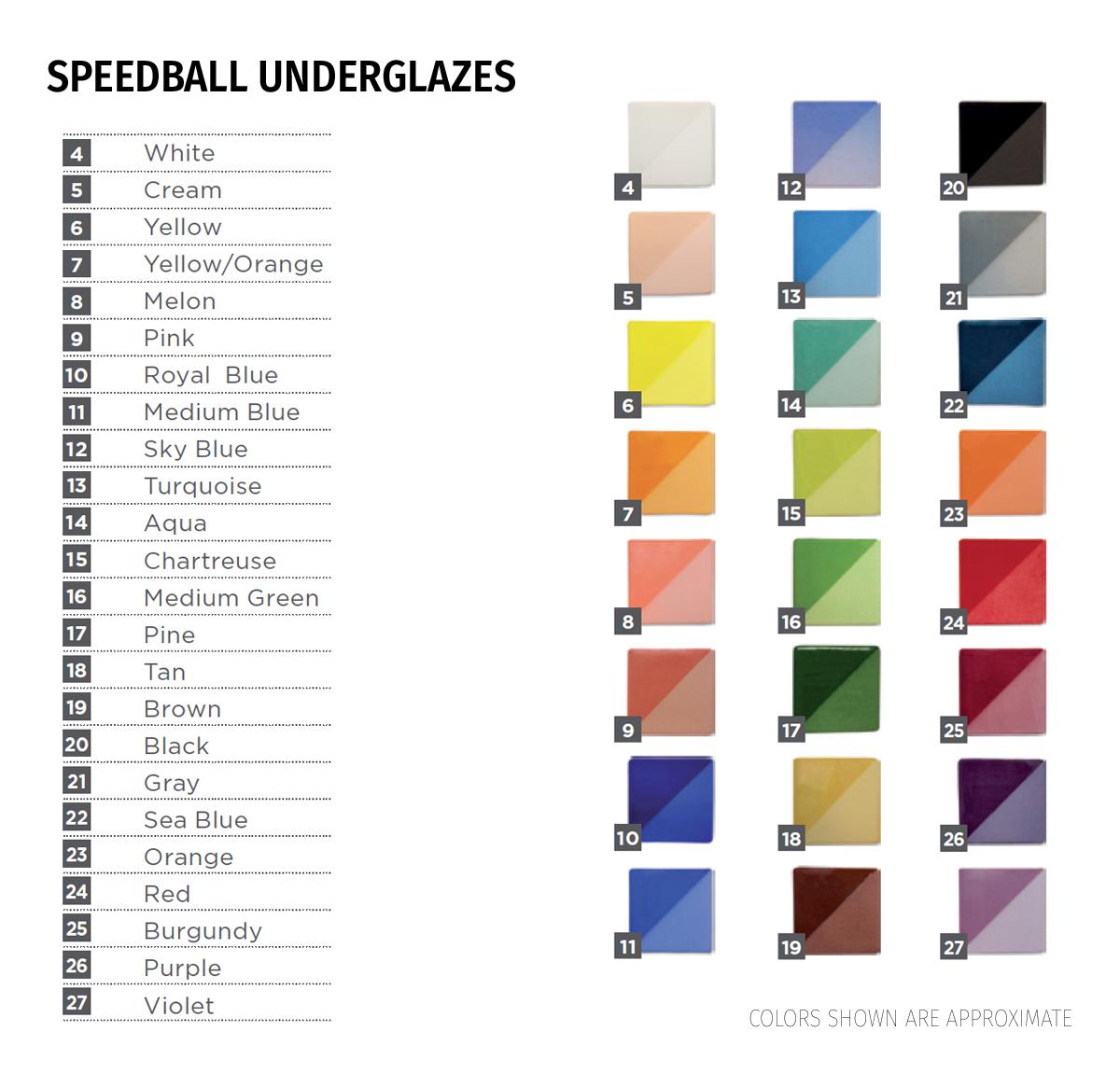 Speedball 174 Underglazes Amp Glazes Speedball Art